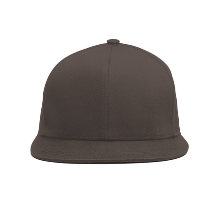 A modern Snapback Front Cap MockUp In Rocky Granite Color to help you present your hat designs beautifully. You can customize almost everything in this hat mockup to match your cap design.