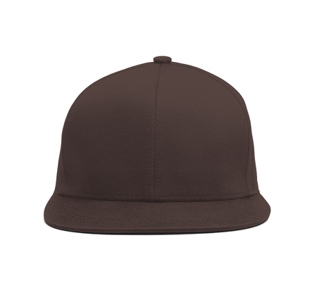 A modern Snapback Front Cap MockUp In Chicory Coffee Color to help you present your hat designs beautifully. You can customize almost everything in this hat mockup to match your cap design.