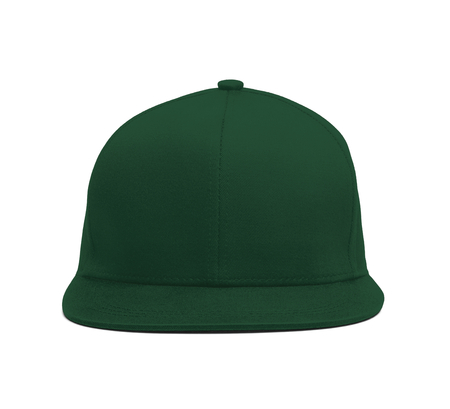 A modern Snapback Front Cap MockUp In Green Eden Color to help you present your hat designs beautifully. You can customize almost everything in this hat mockup to match your cap design.