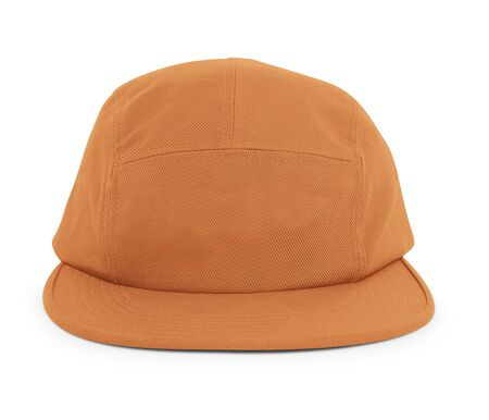 A modern Cool Guy Cap Mock Up In Autumn Maple Color to help you present your hat designs beautifully. You can customize almost everything in this hat mockup to match your cap design.