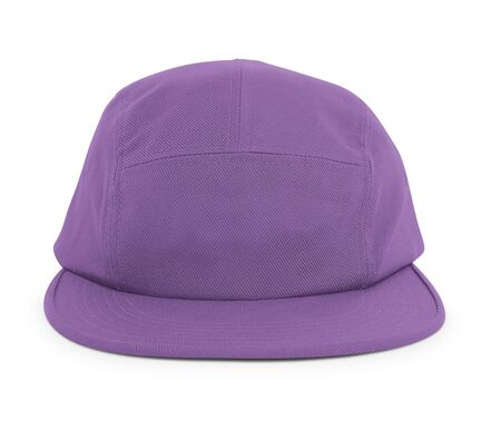 A modern Cool Guy Cap Mock Up In Royal Lilac Color to help you present your hat designs beautifully. You can customize almost everything in this hat mockup to match your cap design. Stockfoto