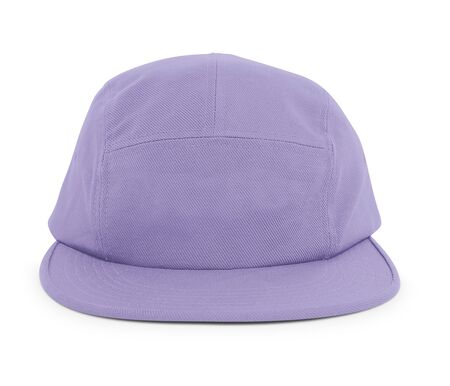 A modern Cool Guy Cap Mock Up In Violet Tulip Color to help you present your hat designs beautifully. You can customize almost everything in this hat mockup to match your cap design.