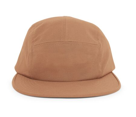 A modern Cool Guy Cap Mock Up In Brown Hazel Color to help you present your hat designs beautifully. You can customize almost everything in this hat mockup to match your cap design. Banco de Imagens