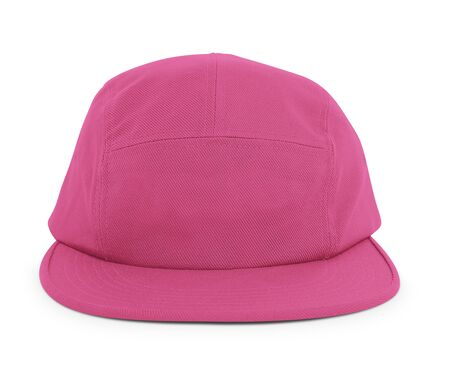 A modern Cool Guy Cap Mock Up In Pink Peacock Color to help you present your hat designs beautifully. You can customize almost everything in this hat mockup to match your cap design.