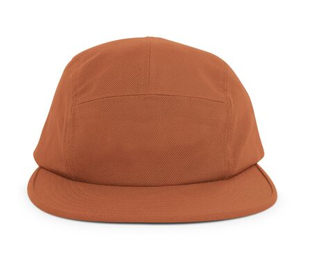 A modern Cool Guy Cap Mock Up In Pottery Clay Color to help you present your hat designs beautifully. You can customize almost everything in this hat mockup to match your cap design.