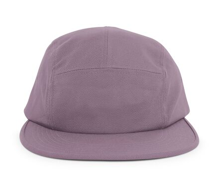 A modern Cool Guy Cap Mock Up In Grapeade Purple Color to help you present your hat designs beautifully. You can customize almost everything in this hat mockup to match your cap design.