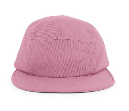 A modern Cool Guy Cap Mock Up In Cashmere Rose Color to help you present your hat designs beautifully. You can customize almost everything in this hat mockup to match your cap design.