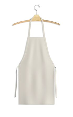 Showcase your design with this Sweet Apron Mock Up In White Tofu Color. A realistic look and high resolution mock up to help you present your designs beautifully.