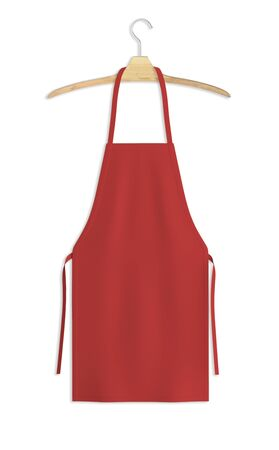Showcase your design with this Sweet Apron Mock Up In Valiant Poppy Color. A realistic look and high resolution mock up to help you present your designs beautifully.