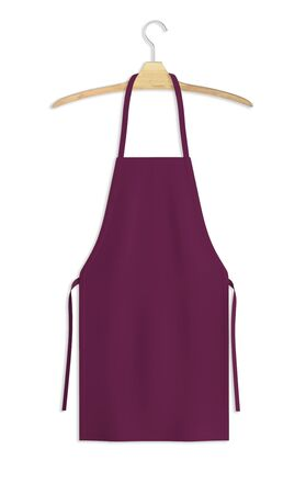 Showcase your design with this Sweet Apron Mock Up In Magenta Purple Color. A realistic look and high resolution mock up to help you present your designs beautifully. Imagens