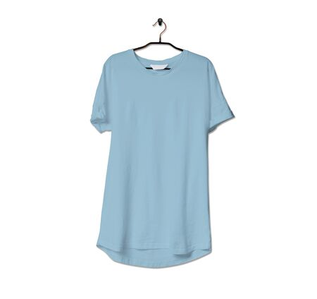 Grab this impressive Realistic Tshirt Mock Up In Aqua Marine Color to give a boost to your brand logo. This mock up are highly Perfect for showcasing your artwork.