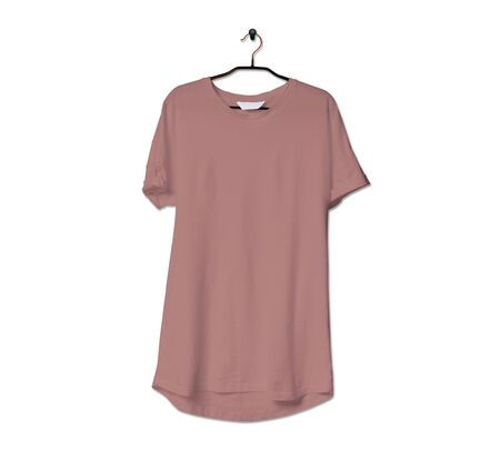 Grab this impressive Realistic Tshirt Mock Up In Ash Rose Color to give a boost to your brand logo. This mock up are highly Perfect for showcasing your artwork.