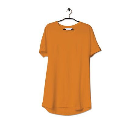 Grab this impressive Realistic Tshirt Mock Up In Light Cheddar Color to give a boost to your brand logo. This mock up are highly Perfect for showcasing your artwork.