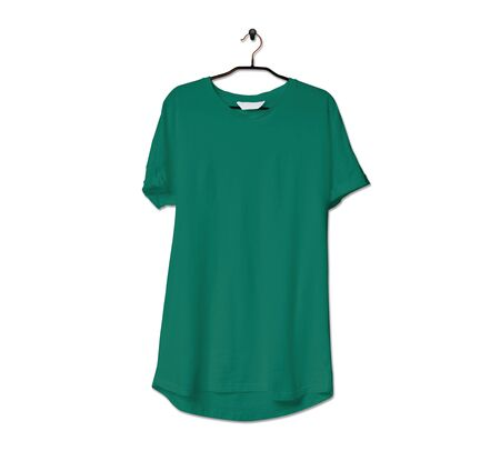 Grab this impressive Realistic Tshirt Mock Up In Lush Meadow Color to give a boost to your brand logo. This mock up are highly Perfect for showcasing your artwork. 写真素材