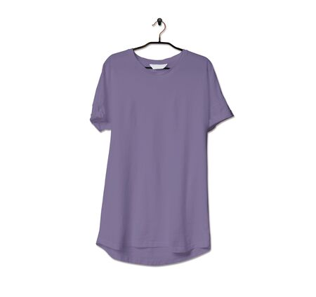 Grab this impressive Realistic Tshirt Mock Up In Purple Haze Color to give a boost to your brand logo. This mock up are highly Perfect for showcasing your artwork.