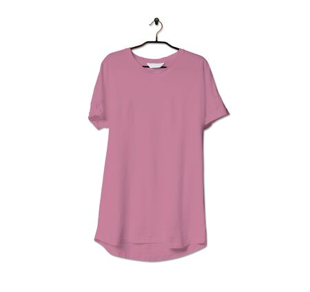 Grab this impressive Realistic Tshirt Mock Up In Cashmere Rose Color to give a boost to your brand logo. This mock up are highly Perfect for showcasing your artwork.