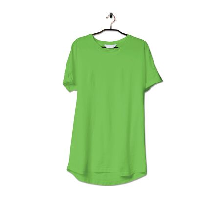 Grab this impressive Realistic Tshirt Mock Up In Green Flash Color to give a boost to your brand logo. This mock up are highly Perfect for showcasing your artwork. 写真素材