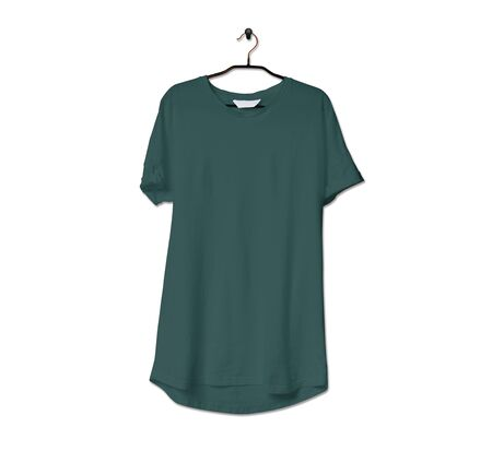 Grab this impressive Realistic Tshirt Mock Up In Forest Biome Color to give a boost to your brand logo. This mock up are highly Perfect for showcasing your artwork.