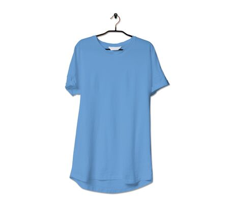 Grab this impressive Realistic Tshirt Mock Up In Little Boy Blue Color to give a boost to your brand logo. This mock up are highly Perfect for showcasing your artwork.