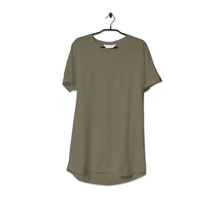 Grab this impressive Realistic Tshirt Mock Up In Martini Olive Color to give a boost to your brand logo. This mock up are highly Perfect for showcasing your artwork. 写真素材