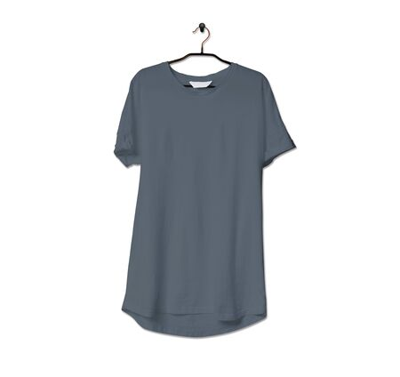 Grab this impressive Realistic Tshirt Mock Up In Stormy Weather Color to give a boost to your brand logo. This mock up are highly Perfect for showcasing your artwork.