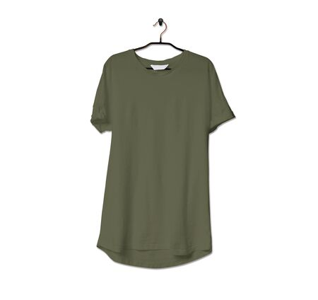 Grab this impressive Realistic Tshirt Mock Up In Terrarium Moss Color to give a boost to your brand logo. This mock up are highly Perfect for showcasing your artwork.