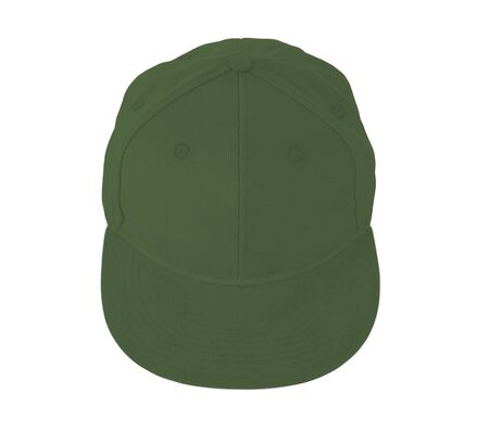This Up View Snapback Cap Mock Up In Green Kale Color is easy to use. Add your graphic into this mock-up as well as you like. An amazing mockup to help you present your designs beautifully. Stock Photo