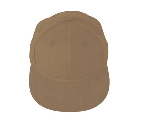 This Up View Snapback Cap Mock Up In Iced Coffee Color is easy to use. Add your graphic into this mock-up as well as you like. An amazing mockup to help you present your designs beautifully.