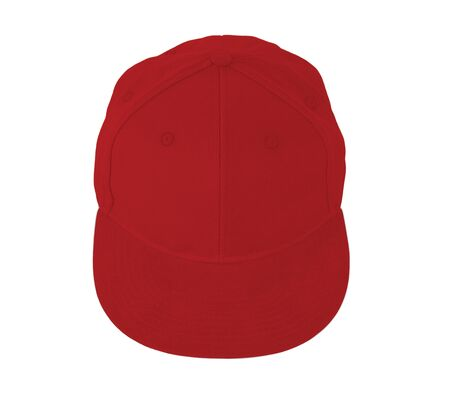 This Up View Snapback Cap Mock Up In Flame Scarlet Color is easy to use. Add your graphic into this mock-up as well as you like. An amazing mockup to help you present your designs beautifully. Stockfoto
