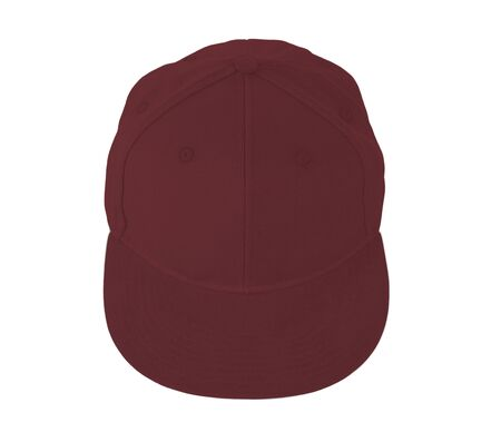 This Up View Snapback Cap Mock Up In Merlot Beries Color is easy to use. Add your graphic into this mock-up as well as you like. An amazing mockup to help you present your designs beautifully.