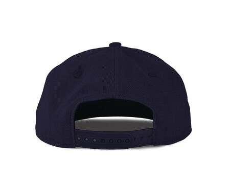 Add your graphic into this Back View Snapback Cap Mock Up In Blue Eclipse Color as well as you like, You can customize almost everything in this image. Imagens