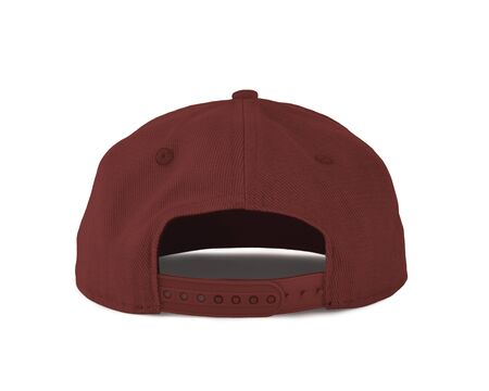 Add your graphic into this Back View Snapback Cap Mock Up In Chili Oil Color as well as you like, You can customize almost everything in this image.