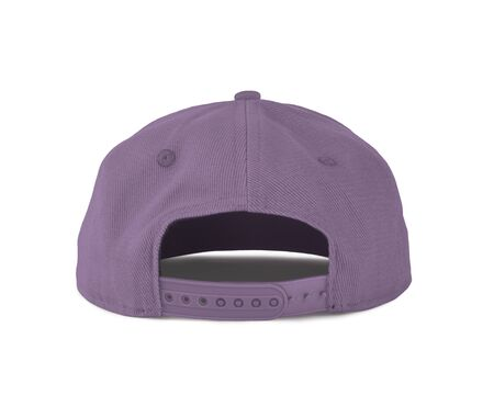 Add your graphic into this Back View Snapback Cap Mock Up In Crocus Petal Color as well as you like, You can customize almost everything in this image. Imagens