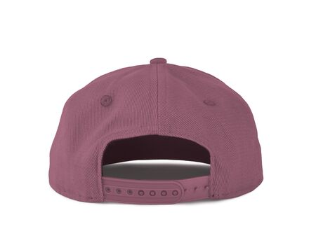 Add your graphic into this Back View Snapback Cap Mock Up In Cashmere Rose Color as well as you like, You can customize almost everything in this image.