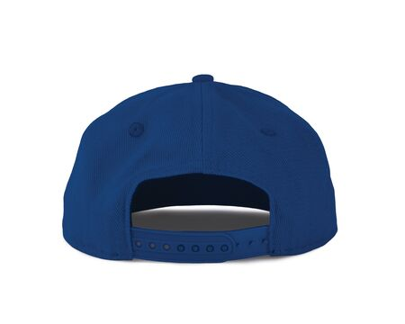 Add your graphic into this Back View Snapback Cap Mock Up In Princess Blue Color as well as you like, You can customize almost everything in this image. Imagens