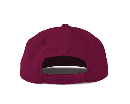 Add your graphic into this Back View Snapback Cap Mock Up In Dark Sangria Color as well as you like, You can customize almost everything in this image. Imagens