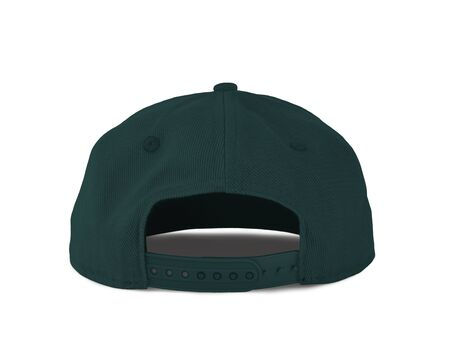 Add your graphic into this Back View Snapback Cap Mock Up In Forest Biome Color as well as you like, You can customize almost everything in this image. Imagens