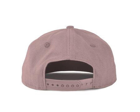 Add your graphic into this Back View Snapback Cap Mock Up In Rose Quartet Color as well as you like, You can customize almost everything in this image.