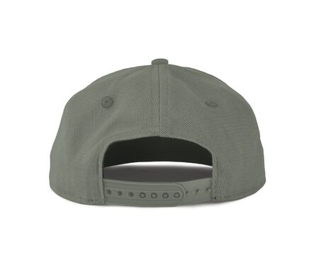 Add your graphic into this Back View Snapback Cap Mock Up In Desert Sage Color as well as you like, You can customize almost everything in this image.