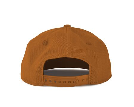 Add your graphic into this Back View Snapback Cap Mock Up In Light Cheddar Color as well as you like, You can customize almost everything in this image.