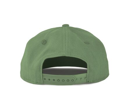 Add your graphic into this Back View Snapback Cap Mock Up In Nile Green Color as well as you like, You can customize almost everything in this image. Imagens