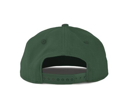 Add your graphic into this Back View Snapback Cap Mock Up In Hybrid Comfrey Color as well as you like, You can customize almost everything in this image.