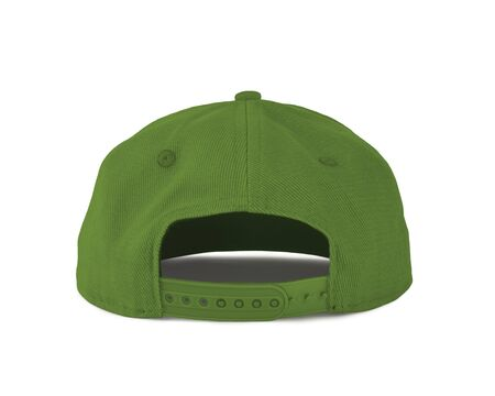 Add your graphic into this Back View Snapback Cap Mock Up In Classy Greenery Color as well as you like, You can customize almost everything in this image.