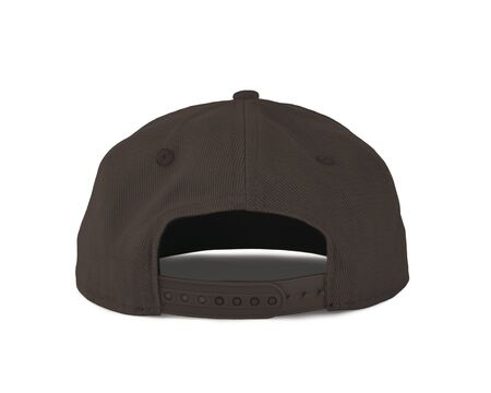Add your graphic into this Back View Snapback Cap Mock Up In Rocky Granite Color as well as you like, You can customize almost everything in this image.