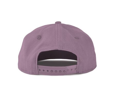 Add your graphic into this Back View Snapback Cap Mock Up In Pink Lavender Color as well as you like, You can customize almost everything in this image.