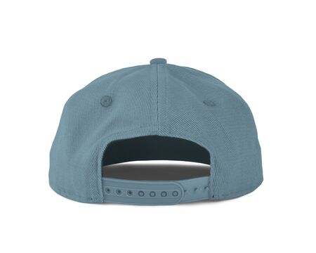 Add your graphic into this Back View Snapback Cap Mock Up In Aqua Marine Color as well as you like, You can customize almost everything in this image. Imagens