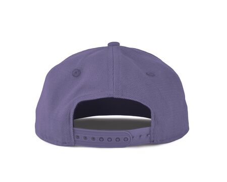 Add your graphic into this Back View Snapback Cap Mock Up In Violet Tulip Color as well as you like, You can customize almost everything in this image. Imagens