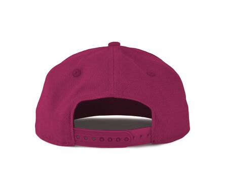 Add your graphic into this Back View Snapback Cap Mock Up In Pink Peacock Color as well as you like, You can customize almost everything in this image. Imagens