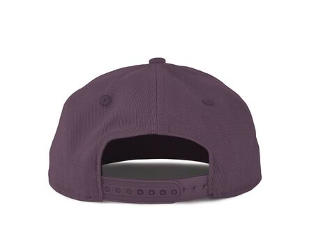 Add your graphic into this Back View Snapback Cap Mock Up In Grapeade Purple Color as well as you like, You can customize almost everything in this image.