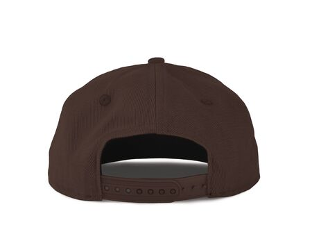 Add your graphic into this Back View Snapback Cap Mock Up In Rocky Road Color as well as you like, You can customize almost everything in this image.